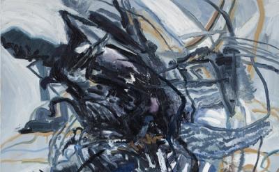 Susanna Heller, Taratoma Cloud, 2011, 60 × 40 inches, oil on canvas