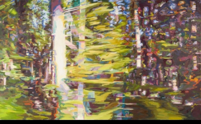 Monica Tap, Six Ways From Sunday (Wednesday), 2011, Oil on canvas, 60 x 100 inch