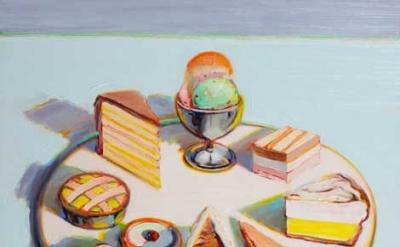 Wayne Thiebaud, Dessert Circle, 1992-1994 (© Wayne Thiebaud/Licensed by VAGA, Ne