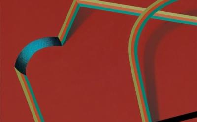 Tomma Abts, Hepe, 2011, courtesy greengrasi, London (source: Kunsthalle, Dusseld