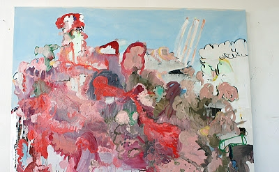 Sabine Tress, My Beautiful Valentine, 2013, acrylic, oil, and spray paint on can