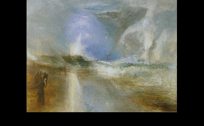 J.M.W. Turner, Rockets and Blue Lights (Close at Hand) to Warn Steamboats of Sho