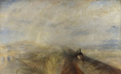 J.M.W. Turner, Rain, Steam and Speed: The Great Western Railway, 1844 (National Gallery, London)