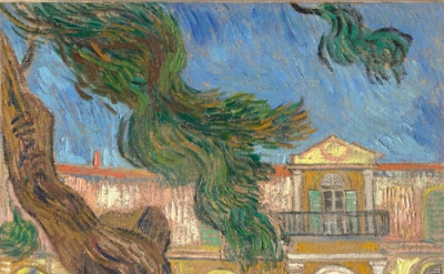 Vincent Van Gogh, Saint-Paul Asylum, Saint-Rémy, October 1889, oil on canvas, 63