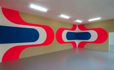 Jan van der Ploeg, Wall Painting, 'Untitled', 2013, acrylic on wall, installatio