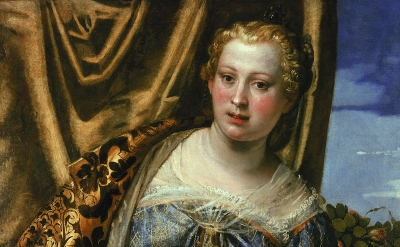Paolo Veronese, Portrait of a Woman as Saint Agnes, ca. 1575–80, oil on canvas,