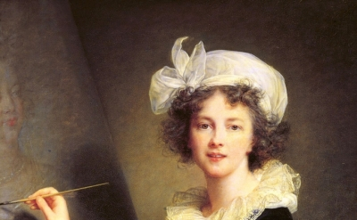 Elisabeth Louise Vigée Le Brun, Self-portrait, 1790, oil on canvas, 39-3/8 x 31-