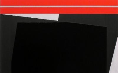 Don Voisine, Full Stop, 2011, oil on wood, 28 x 22 inches (courtesy of the artis