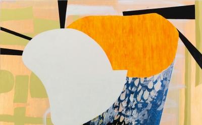 Charline von Heyl, Pancalist, 2012 (courtesy of the artist)