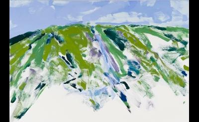 Sandy Walker, Spiritus Mundi, 2012 oil on canvas 72 x 48 inches (courtesy of Eli
