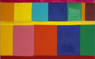 Stanley Whitney, Left to Right, 2011, oil on linen, 96 x 96 inches (courtesy Tea
