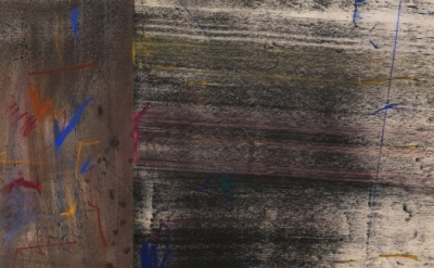 Jack Whitten, Untitled Study #2, pastel and powdered pigment on paper, 1972 (cou