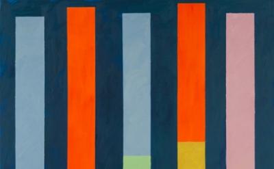 Thornton Willis, Totem #3, 2014, oil on canvas, 86 x 70 inches (courtesy of Eliz