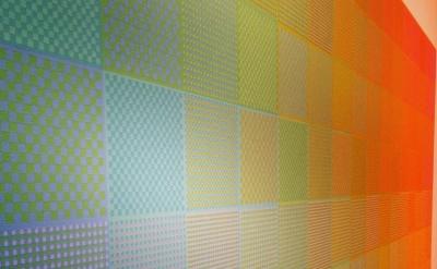 Installation View: Sanford Wurmfeld: Color Visions 1966-2013, Hunter College/Tim