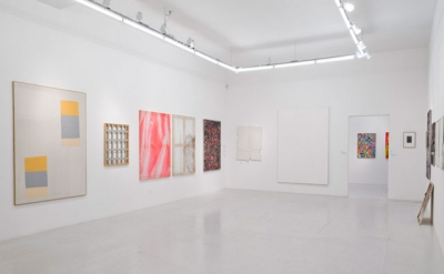 Installation View, Xstraction at The Hole, New York (courtesy of Team Gallery)