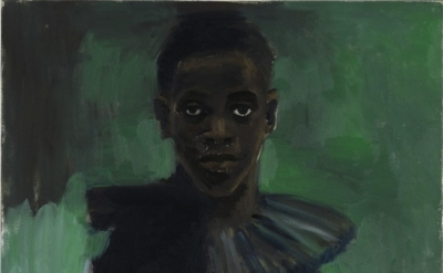 Lynette Yiadom-Boakye, A Passion Like No Other, 2012 oil on canvas 31 1/2 x 29 5