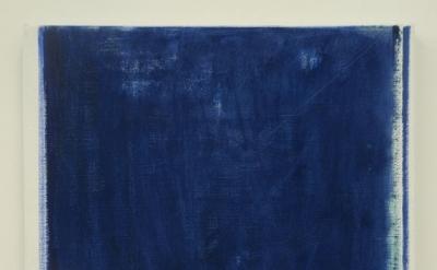 John Zurier, Untitled (Spring), 2014, oil on linen, 25×16 (courtesy of Peter Blu