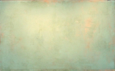 "Daniel Brice, ""OX 7"", 2010, oil on burlap over panel, 66 x 80 inches"