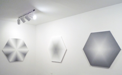 David Malek, painting installation