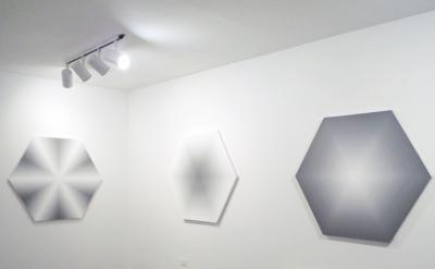 David Malek, painting installation