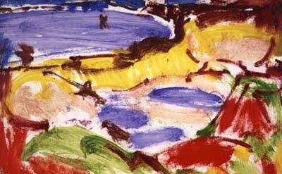 Hans Hofmann, landscape, 1941