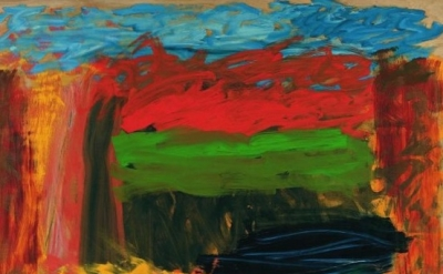 "Howard Hodgkin, ""Home, Home on the Range, detail"