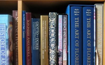 Bookshelf, Joanne Mattera studio