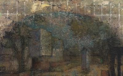 John Lees, Courtyard (Oval), 1989-2010, detail