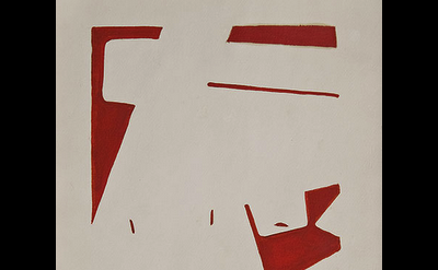 Ralph Coburn, Composition, c, 1951, detail