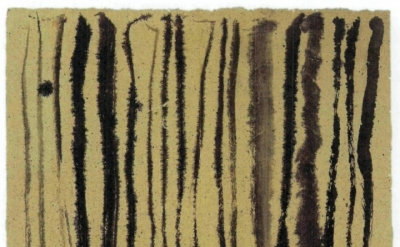 Suh Se-ok, Line Variation, 1959, ink on mulberry paper, 29 by 37 inches