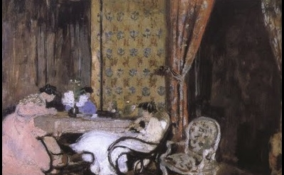 Vuillard, interior, detail