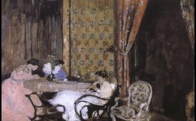 Vuillard, interior, detail
