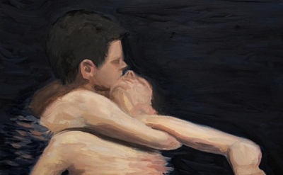 Abel Baker Gutierrez, Rescue Breathing While Treading Water, 2010, detail