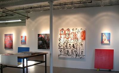 Studio of painter EJ Hauser