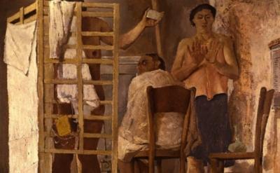 Fausto Pirandelo, Bagno, detail