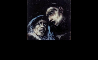 Goya, Monk and Old Woman