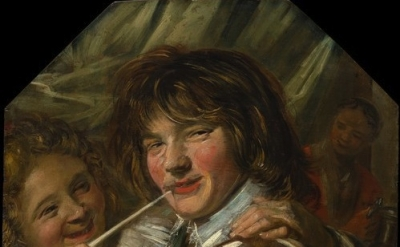 Frans Hals, The Smoker, c. 1625, detail