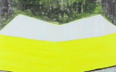 Magalie Guérin, V Landscape, 2010, detail