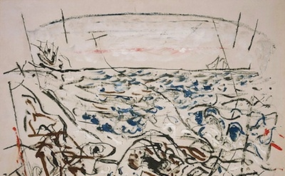 John Marin, The Written Sea, 1952, National Gallery of Art, Washington