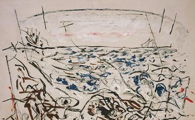 John Marin, The Written Sea, 1952, National Gallery of Art, Washington