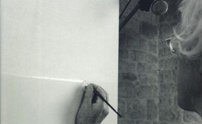 Roman Opalka painting