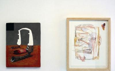 Munro Galloway & Dushko Petrovich installation at Soloway Gallery