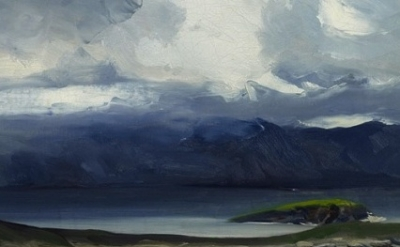 Robert Henri. West Coast of Ireland, 1913. Oil on canvas, 26 x 32 inches. Evers
