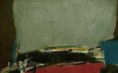 Bud Hopkins painting
