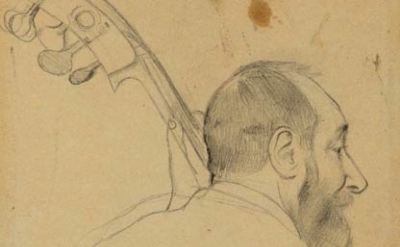 Edgar Degas drawing