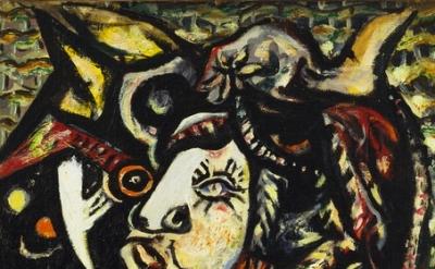 Jackson Pollock, Mask