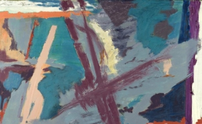 Judith Godwin, painting detail