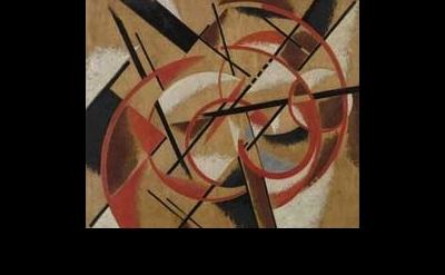 Liubov Popova painting detail