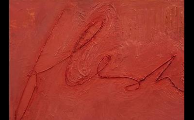 Mira Schor painting detail