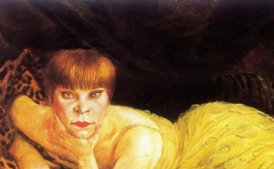 Otto Dix painting detail